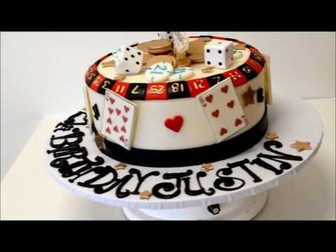 Gamblers Cake Vegas Theme Birthday Cake