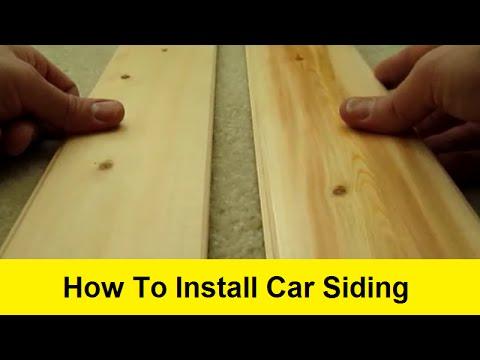 How To Install Car Siding Youtube