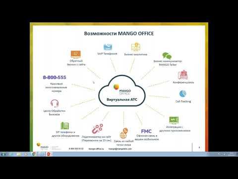 Интеграция Виртуальной АТС MANGO OFFICE и Bitrix24