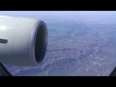 QATAR AIRWAYS 777-300ER flying over Turkey