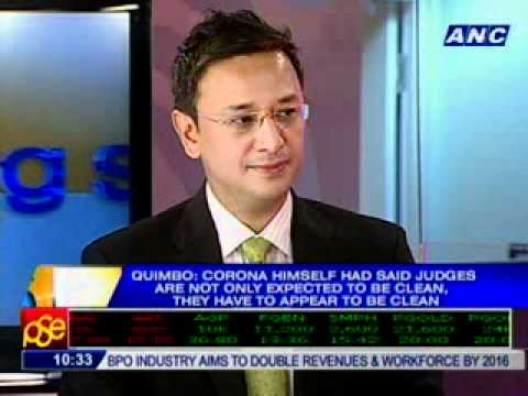 [ANC Mornings] Prosecution team spokesperson Rep. Miro Quimb