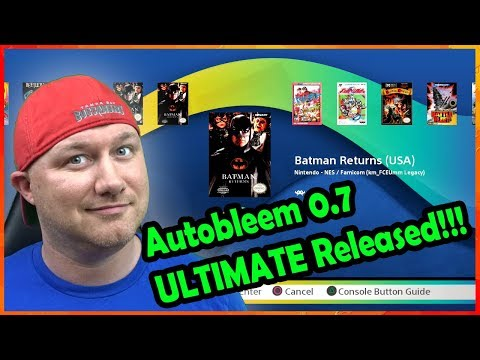 Autobleem 0.7 Ultimate Released! Huge Update To The Playstation Classic Scene!!