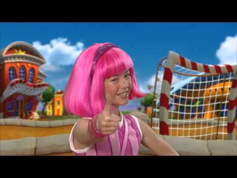 Lazy Town  Never Say Never Instrumental