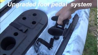 DACE Single Fishing Kayak - How to set up the new model DACE for the first time