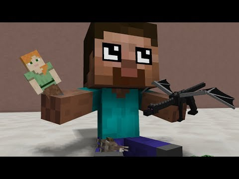 Baby Herobrine Life - Minecraft Top 10 Life Animations