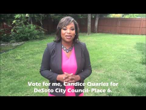 Election Day- Candice For DeSoto