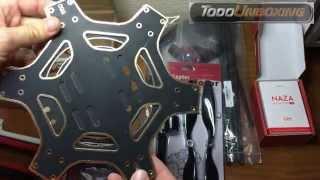 Construir un drone dji F550 hexacopter. Materiales 1/6
