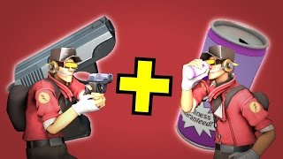 TF2 - Using the Crit-A-Cola with the Pistol!