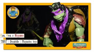 Видео обзор: 30-сантиметровая фигурка Донателло от Playmates Toys   Ninja Turtles   Donatello