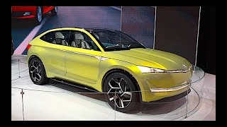 New Skoda Vision E 2019 surprised the guests of the exhibition