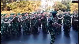 yel yel TNI Terbaik di INDONESIA