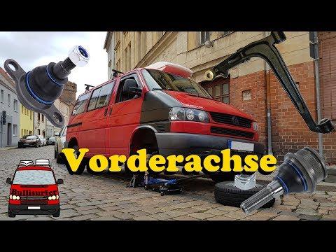 Querlenker und Traggelenke wechseln - VW T4 Vorderachse