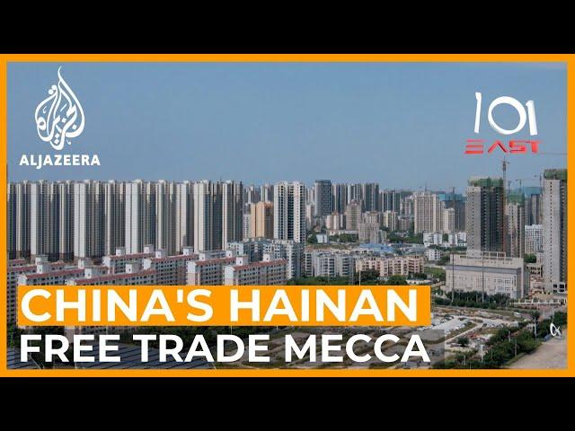 China's Free Trade Mecca   101 East