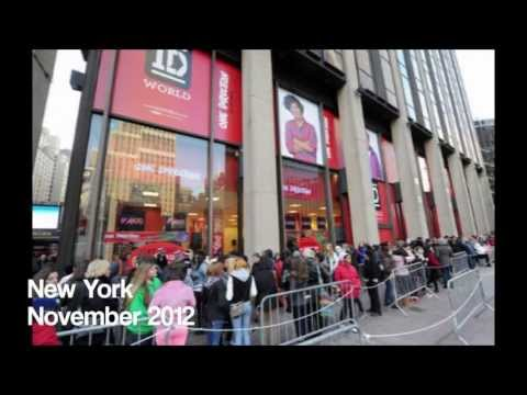 All Of The One Direction World Stores So Far!