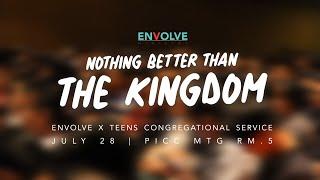 ENVOLVE X TEENS: Congregational Service
