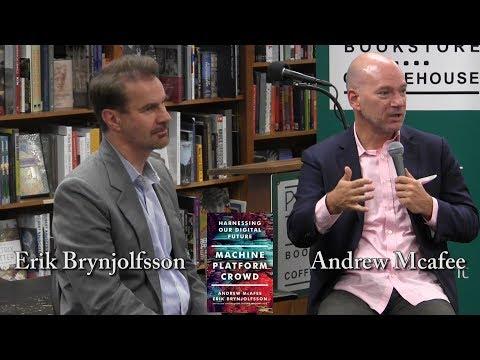 """Andrew McAfee and Erik Brynjolfsson, """"Machine, Platform, Crowd"""""""
