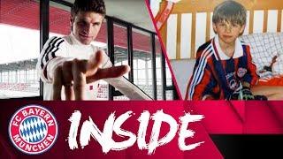Mit Thomas Müller auf dem FCB Campus | Inside FC Bayern