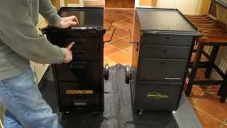 Northern Tool 164782 Vs. Harbor Freight 61705 Welding Cabinet Cart Assembly And Comparison