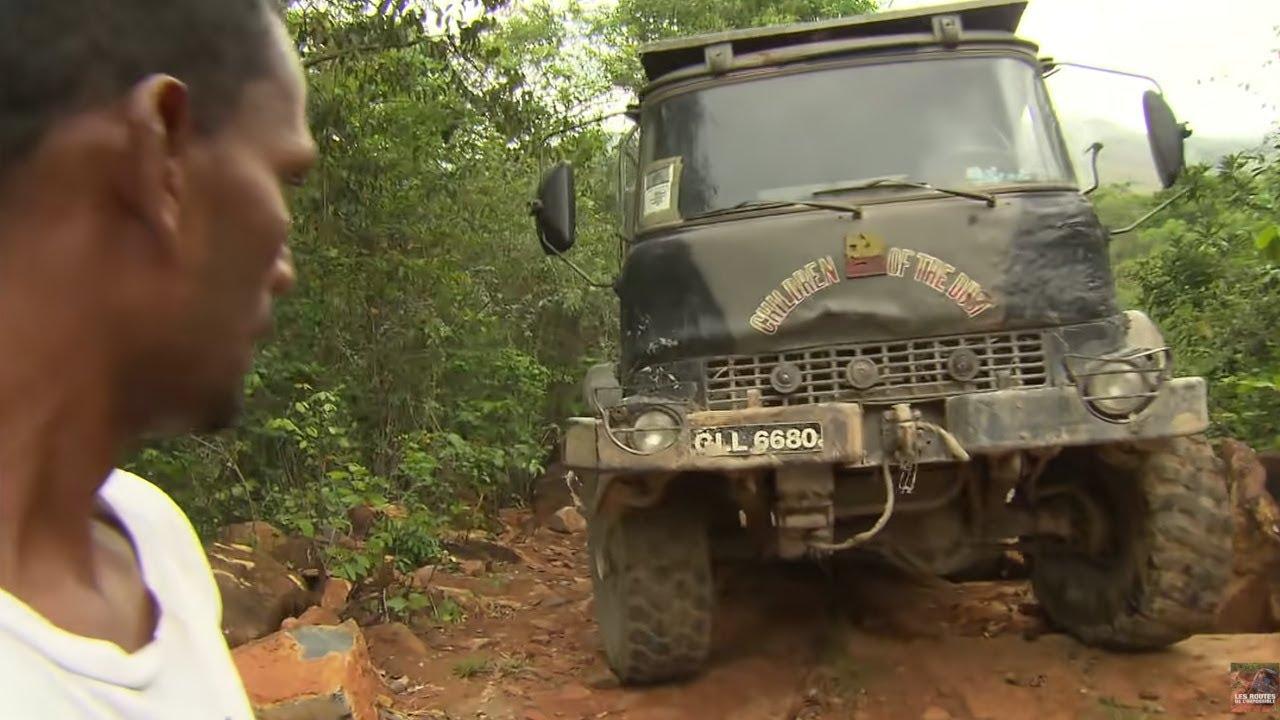 Les routes de l'impossible :  Guyana, Les Convois du Monde Perdu