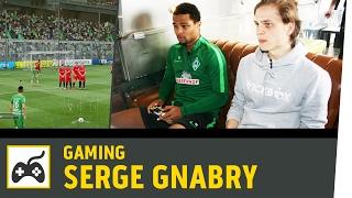 FIFA 17 vs. Serge Gnabry | Werder Bremen vs. Eintracht Frankfurt | Kickbox