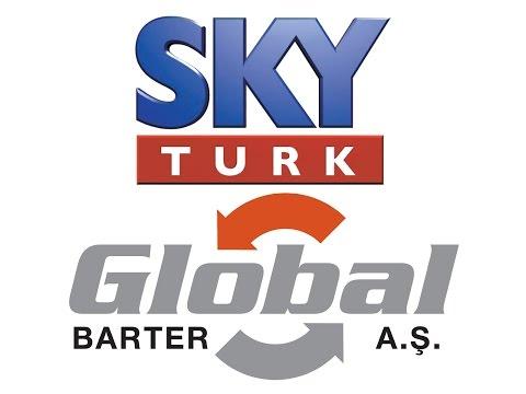 GLOBAL BARTER; SKY TÜRK TV - EKO FİNANS PROGRAMINDA