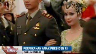 """Pernikahan Lettu Inf. Agus  Yudhoyono dengan Presenter Cantik Annisa Pohan """"Indonesia siang"""""""