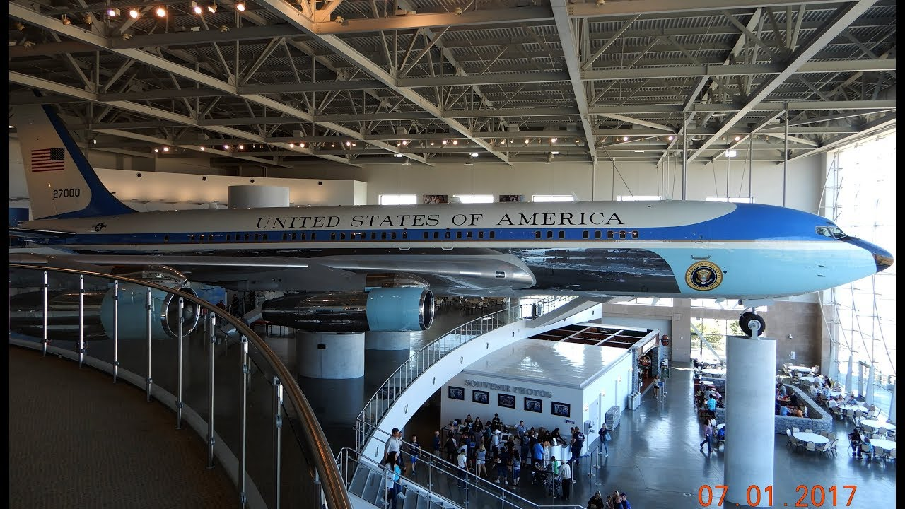 Air Force One Ronald Reagan Presidential Library