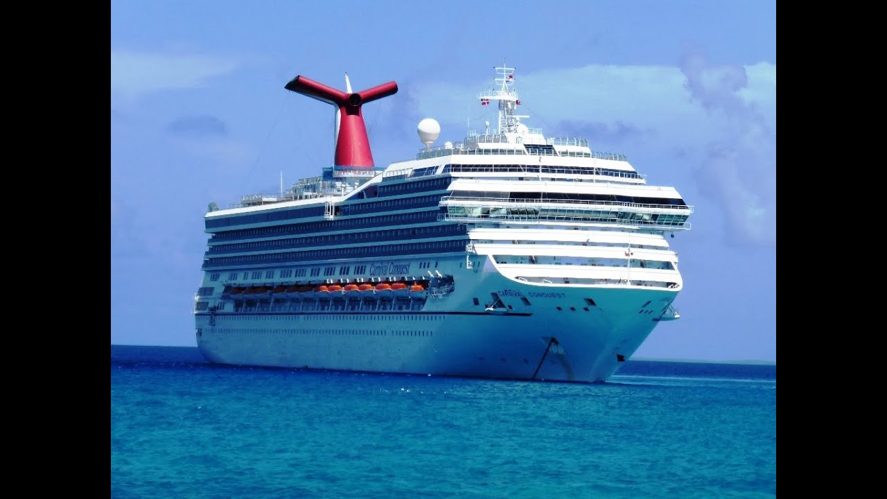 Onboard Cruise Ship Carnival Conquest Caribbean Voyage