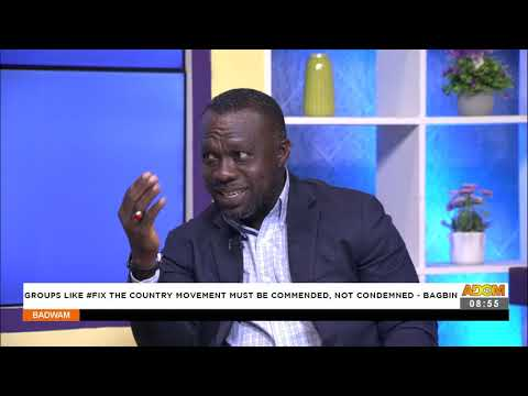 Bagbin: Group like the country movement must be commended, not condemned - Badwam (23-9-21)