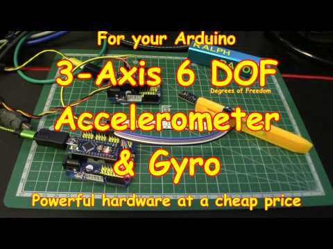 #76 MPU6050 3-Axis Accelerometer Gyro - First Look