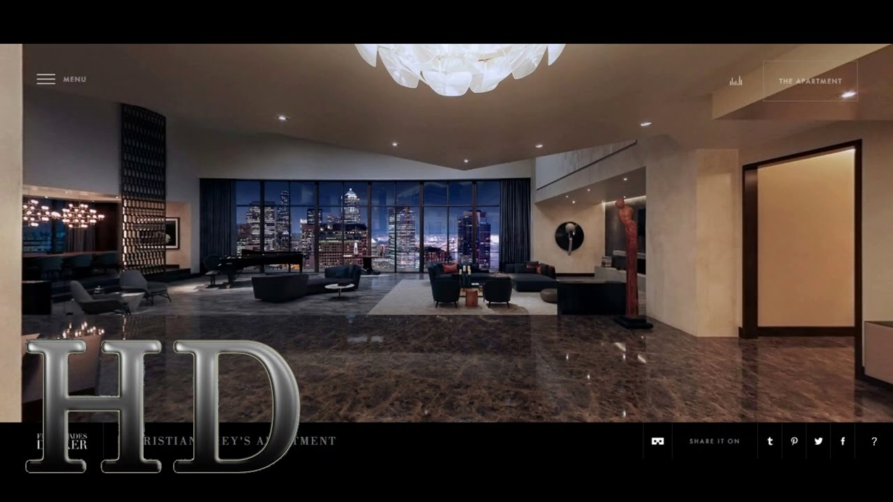 Fifty Shades Darker Christian Grey 39 S Apartment