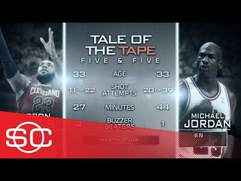 Keith Olbermann weighs in on the Michael Jordan-LeBron James debate | SportsCenter | ESPN