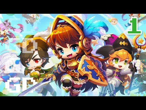 MapleStory 2 Gameplay Part 1 – Intro – Let's Play Series