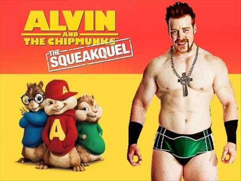 Alvin The Chipmunks Wwe Themes Sheamus Youtube