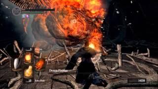 Dark Souls; Pyromancies Only Run (All Bosses)