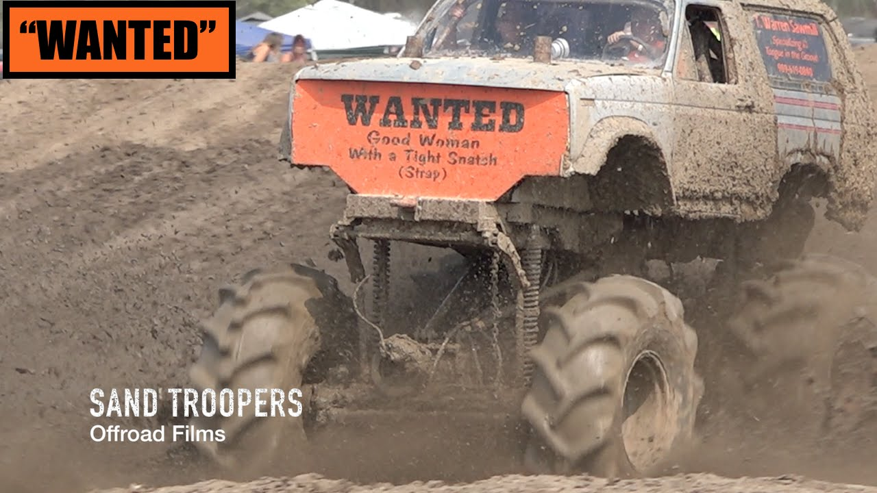 "Trucks Gone Wild Michigan >> ""WANTED"" @ Trucks Gone Wild 2015 MUD BOG Ford BRONCO - YouTube"