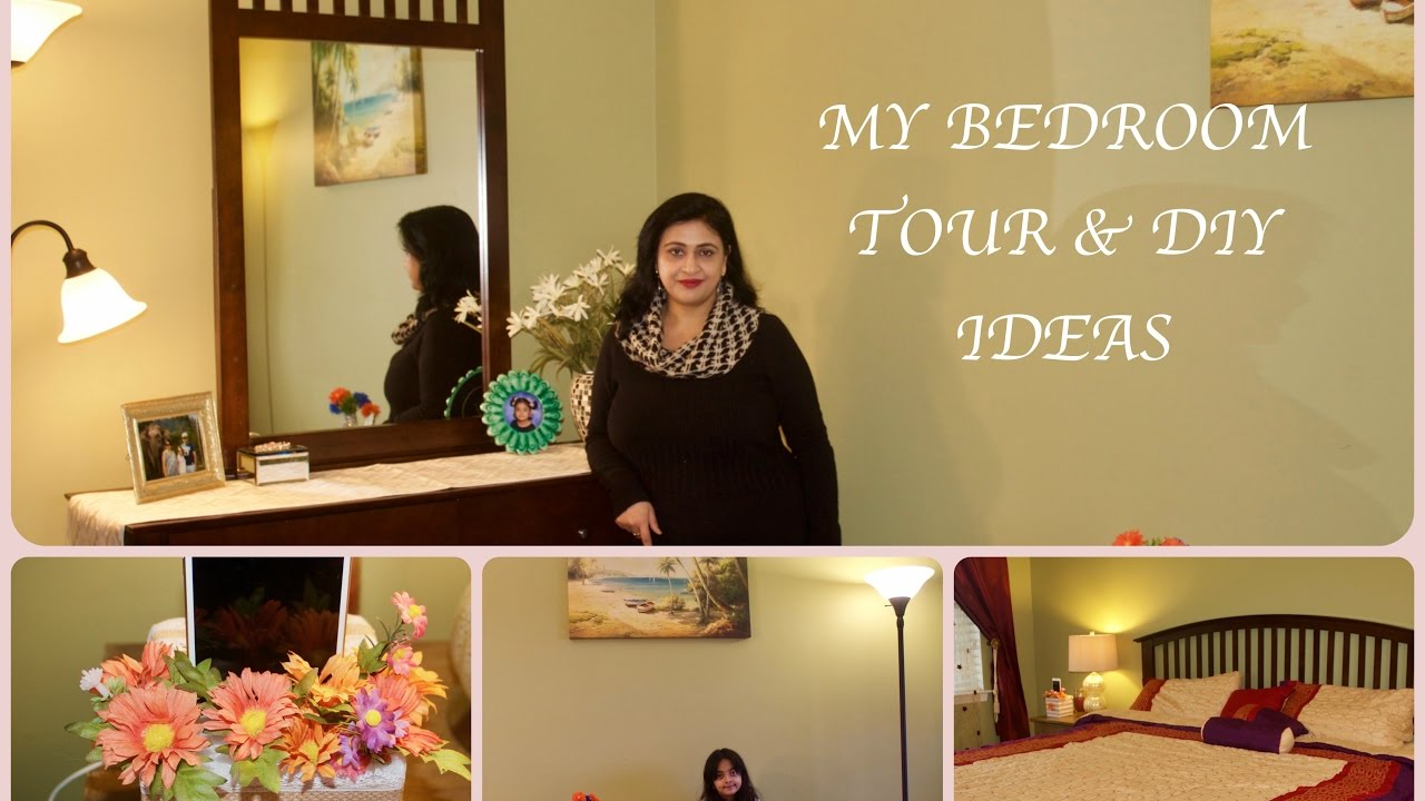 Bedroom Tour Indian Bedroom Organization Decor Ideas Indian Nri Bedroom Tour Youtube