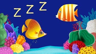 Bedtime Lullabies and Peaceful Fish Animation 2: Baby Lullaby