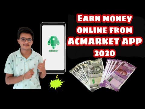 How to Earn Money from ACMarket App 2020 | ACMarket app sa paise kaise kamaye 2020