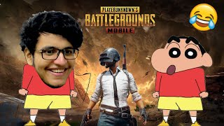 Can Triggered Shinchan Get Chicken Dinner? PUBG Mobile