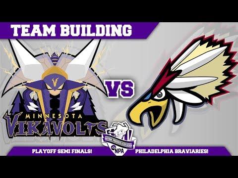 Minnesota Vikavolts Team Building NPA S3 PLAYOFFS: VS Philadelphia Braviaries | Pokemon Sun and Moon