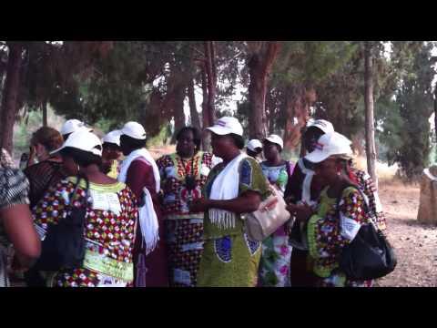 Burkina faso  in the gardens of life Israel