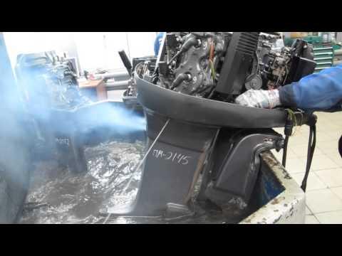 Мотор лодочный Yamaha 115, б/у 1997 г.в.