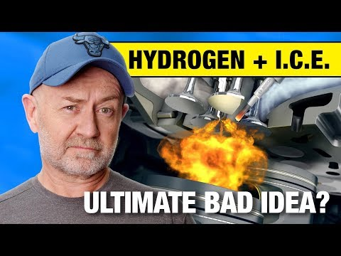 Everything Wrong With Hydrogen Fuel For Internal Combustion Engines   Auto Expert John Cadogan