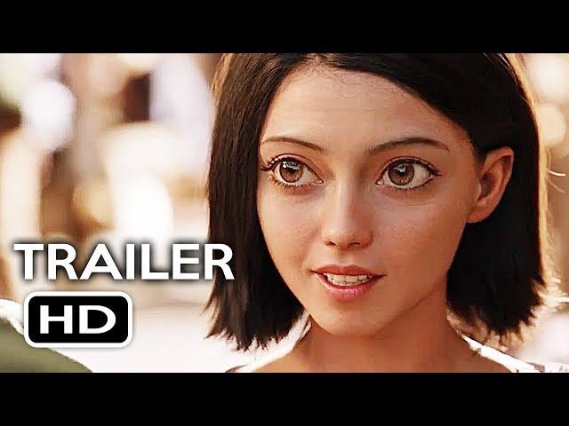 Alita: Battle Angel Official Trailer #1 (2018) James Cameron Sci-Fi Action Movie HD