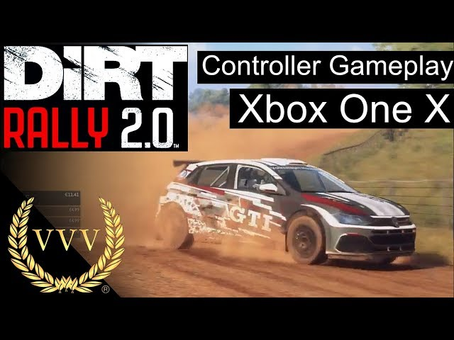 Dirt Rally 2.0 Controller Gameplay