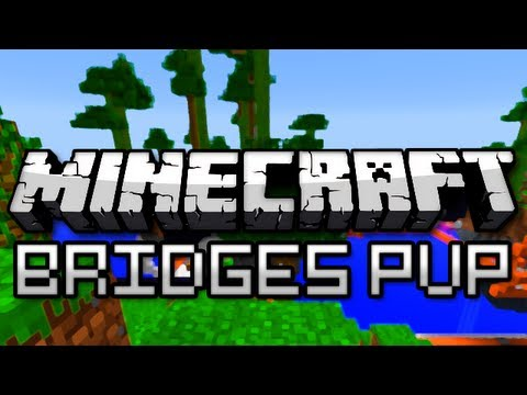 Minecraft: Bridges PVP w/ Friends Round 2 (Mini Game)
