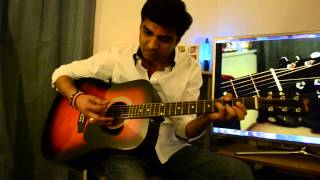 Tum hi ho - Ashique2 on Guitar by Pankaj Chitriv