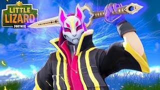 THE INFINITY BLADE TURNS DRIFT INTO A SNOWMAN!!! - Fortnite Short Film