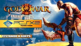 GOD OF WAR 2 (PCSX2) | EMULADOR DE PS2 NO PC | 60FPS | LINK DA ISO NA DESCRIÇÃO